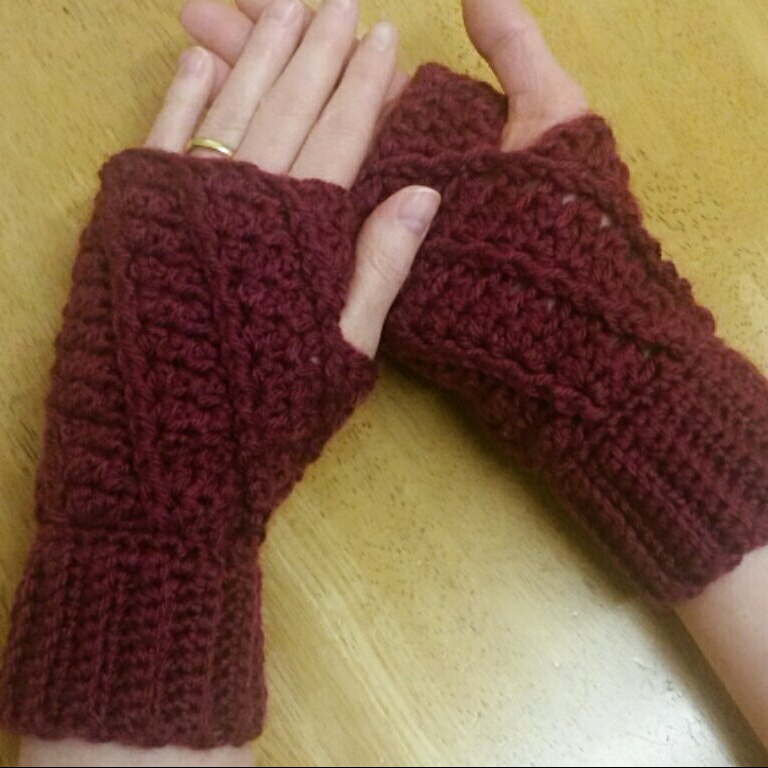 Spiral Mitts