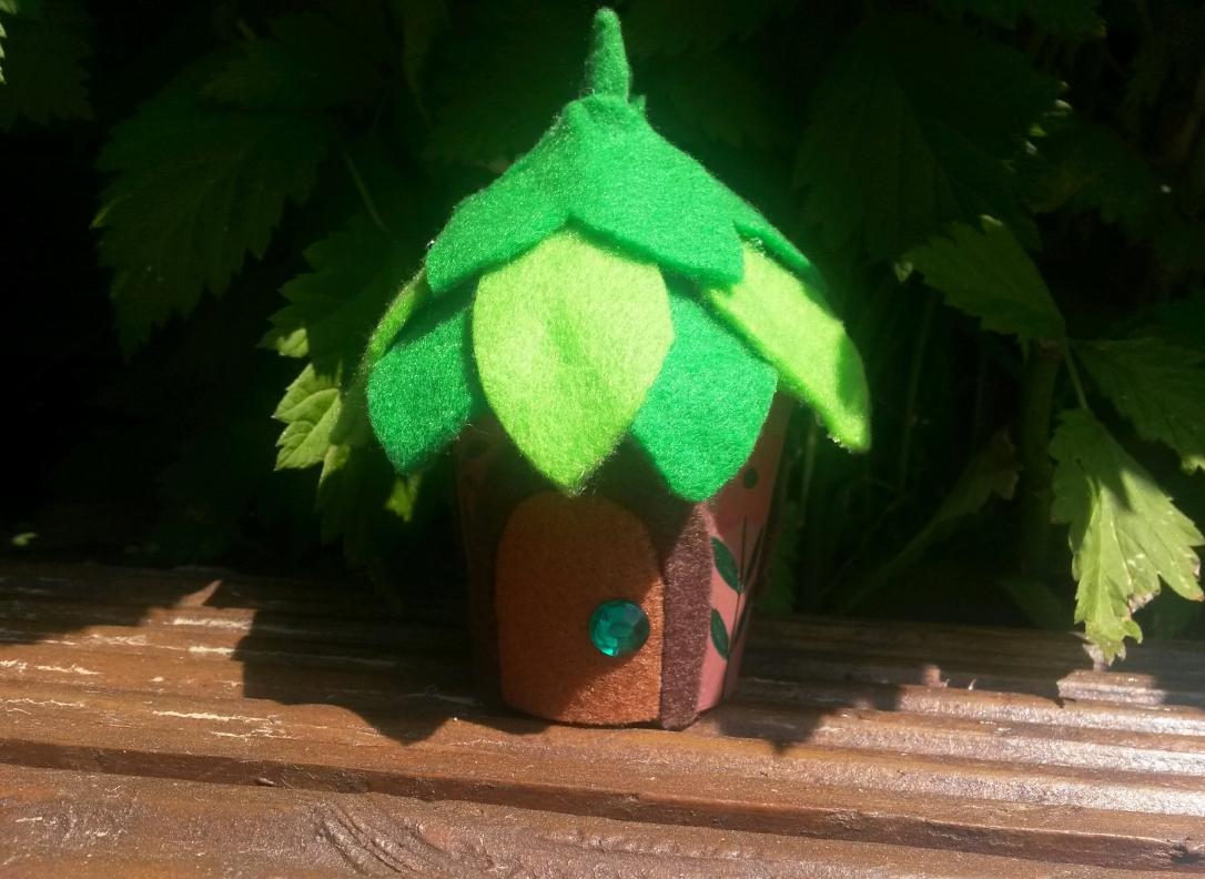 Recycled Fairy House Light