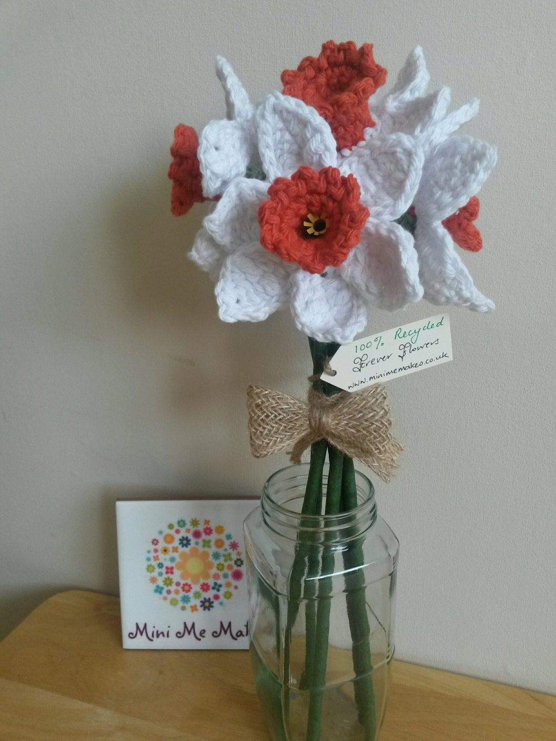 Recycled Flowers by Mini Me Makes