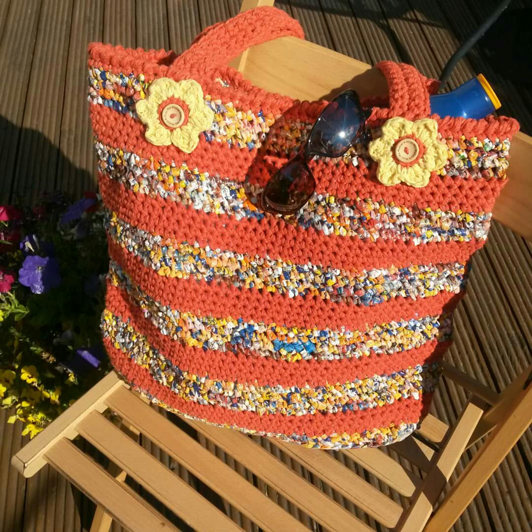 Recycled Bread Bag bag