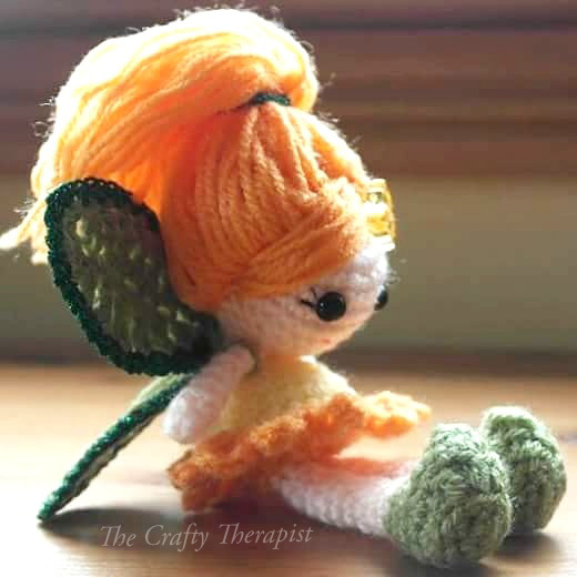 Calendula Crochet Fairy Doll