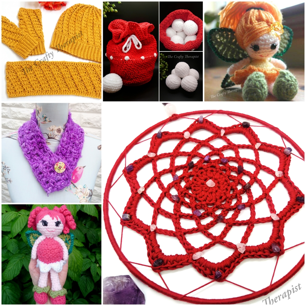 New and most popular patterns by The Crafty Therapist